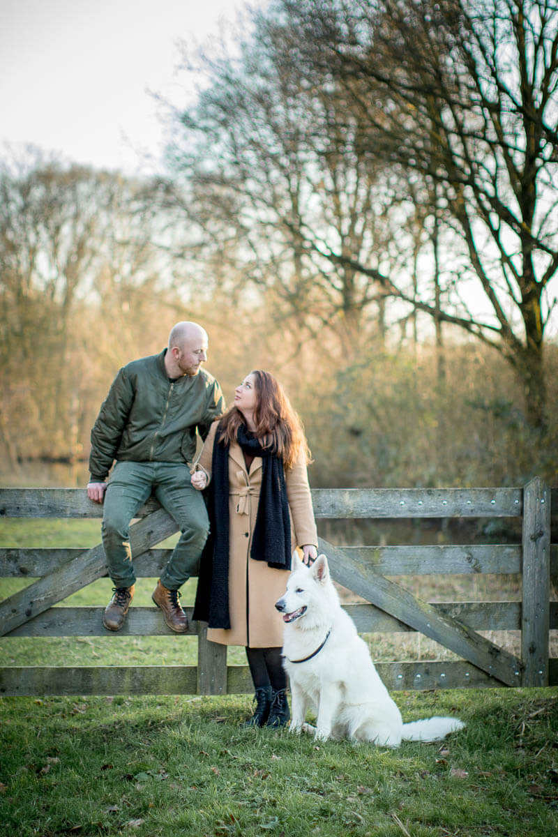 Fotoshoot met hond woerden zwitserse herder portret