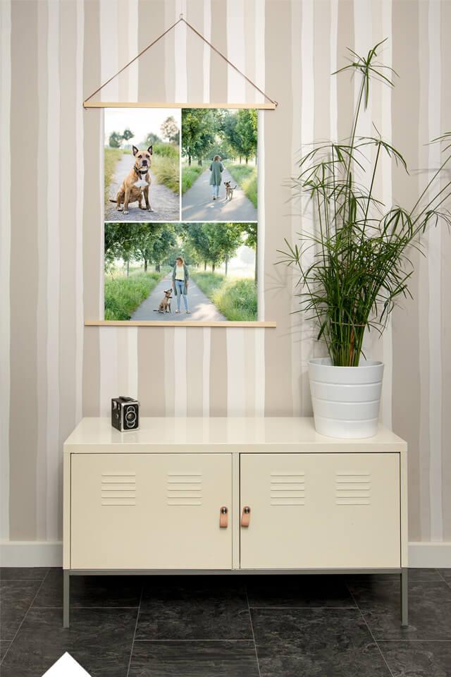fotoshoot-met-je-hond-posterhangers-fotolijst-A1-staand